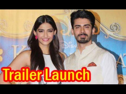 Sonam Kapoor, Fawad Khan at 'Khoobsurat' Trailer Launch | Shashank Ghosh, Rhea Kapoor