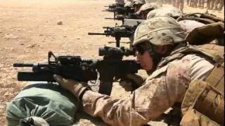 watch usmc afghan rifle range zeroing weapons m4 m16a4 acog