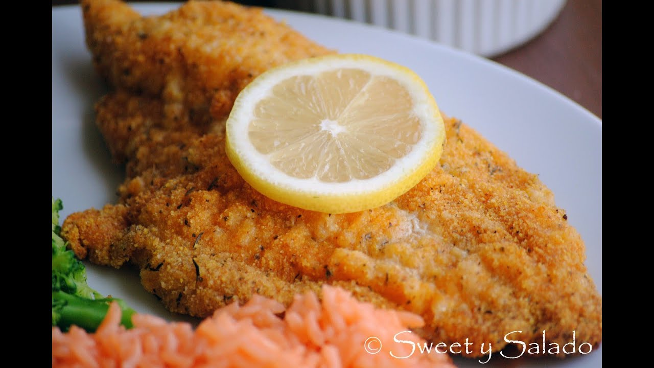 Oven Fried Catfish Recipe - How To Make Breaded Catfish - Sweetysalado ...