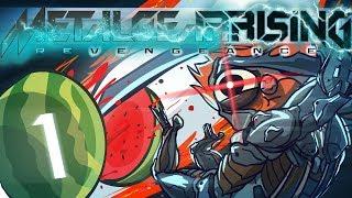 Metal Gear Rising: Revengeance [Part 1] - Suplex the World
