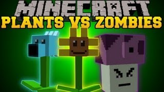 Minecraft : Plants Vs. Zombies (Plants That Battle Against