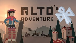 ALTO'S ADVENTURE Review | 40968 High Score Record, Wingsuit & Double Backflip Gameplay | iOS App