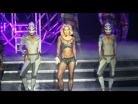 Britney Spears - WORK BITCH Live - Piece of Me - Oct/4/2014 @PlanetHollywood, Las Vegas.
