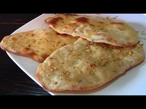 Butter Garlic Naan Recipe