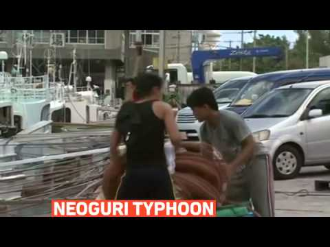 mitv - Japan issues highest alert over super typhoon Neoguri