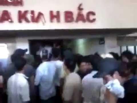 Bao loan tai Benh vien Da khoa Kinh Bac, Bac Ninh (21/04/12)