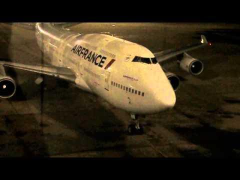 Boeing 747-400 Air France Chegando As 5.28H GIG/RJ/BR