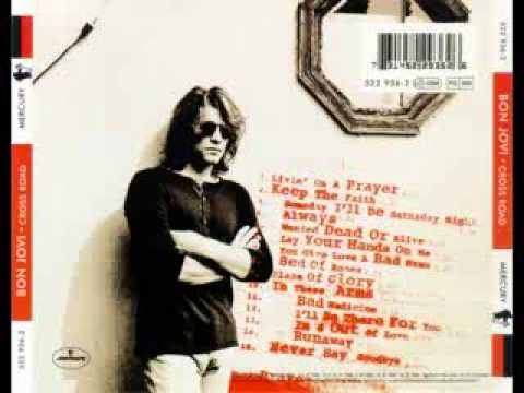 Bon Jovi CD completo Cross Road