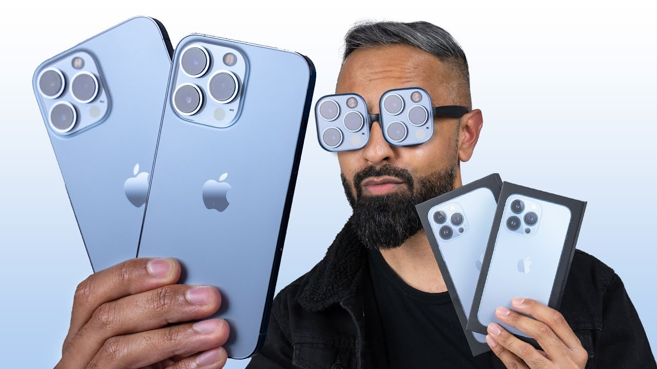 iPhone 13 Pro vs Pro Max Unboxing - The REAL Deal?