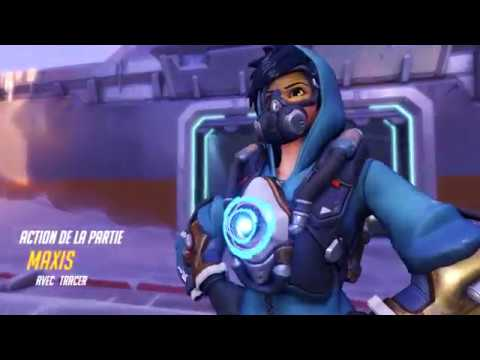 How to engage a team fight with Tracer (Overwatch)
