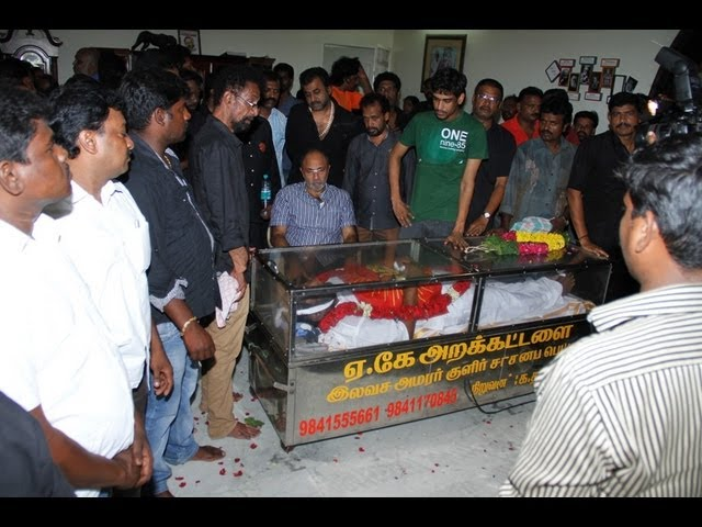 LAST RESPECT TO MANIVANNAN SATHYARAJ SEEMAN AMEER VIKRAMAN PART 1 - BEHINDWOODS.COM