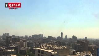 الجيش يحتفل بالرئيس الجديد برسم علم مصر فى سماء القاهرة | قنوات أخرى