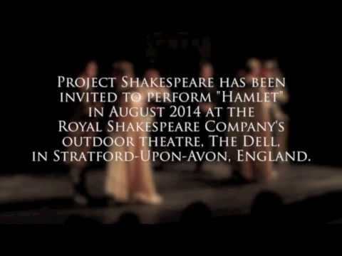 "Project Shakespeare ""For England"" - Indiegogo Campaign"