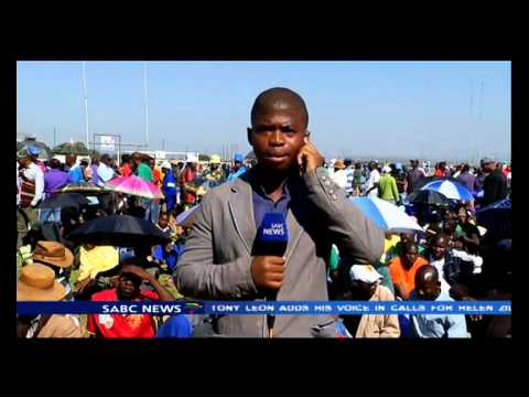 Mathunjwa expected to address the minners in Marikana