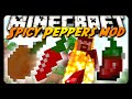 GHOST PEPPERS IN MINECRAFT! (Spicy Peppers Mod)
