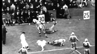 Championship Game Giants 30 Bears 13, December 9, 1934