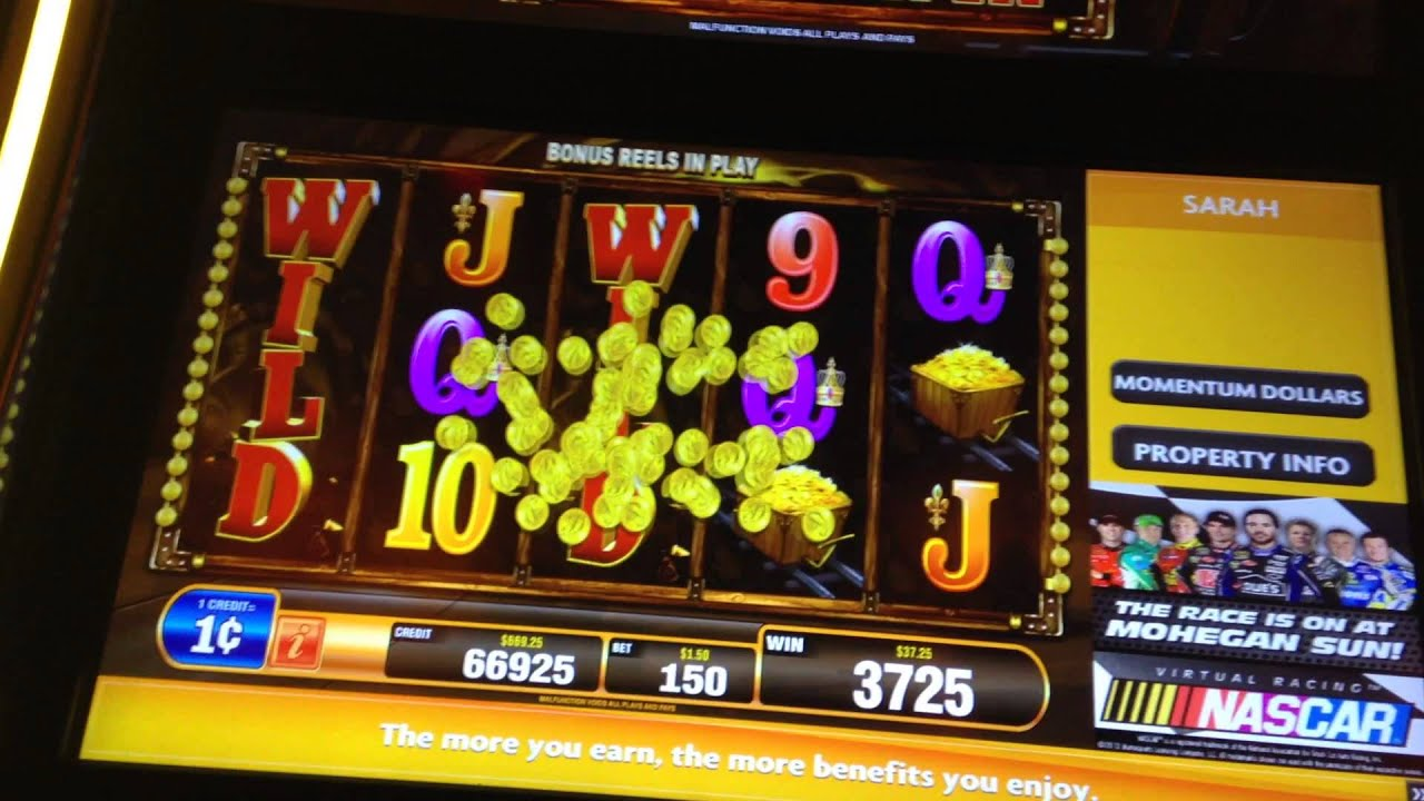 bally gold rush slot machine