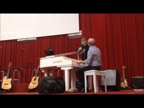 Dueto  com meu pastor José Luiz Moises em Sorocaba!