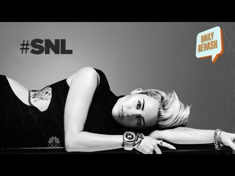 Miley Cyrus hosting SNL (Saturday Night Live): Two Tongues Down? | DAILY REHASH | Ora TV