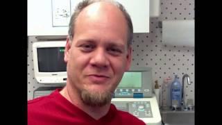 Audiology patient