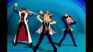 [MMD] Yu-Gi-Oh Goes Gangnam Style XD (full Version)