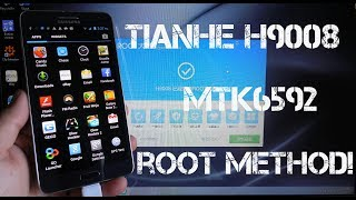 TIANHE H9008 MTK6592 1.7GHz Octa Core 2GB/16GB How To