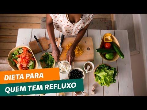 Dieta para quem tem refluxo