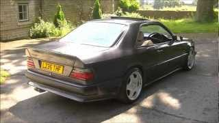 Now Sold! Mercedes W124 Coupe AMG BODY KIT