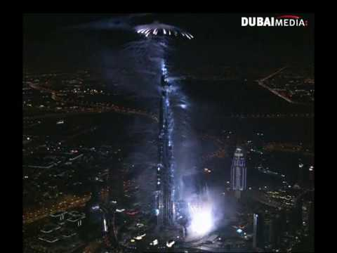 Opening Ceremony of Burj Khalif , Dubai 05/01/2010