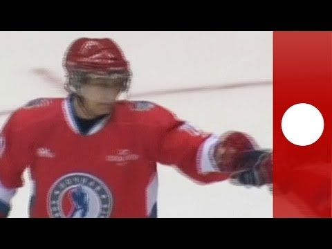 Putin scores, crowd cheers: Russian President shows off hockey skills in Sotchi