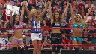 Maria Menounos, Gail Kim And Kelly Kelly Vs. Beth Phoenix