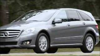 All new Mercedes R-Class 2011 Facelift Driving videos