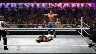 John Cena Vs. Bray Wyatt WrestleMania 30 WWE 2K14