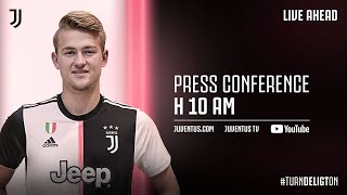 ? LIV⎮?La conferenza stampa di presentazione di Matthijs de Ligt!