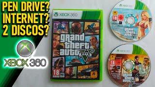 Como Instalar O Disco De Instalação De GTA V Para Xbox 360