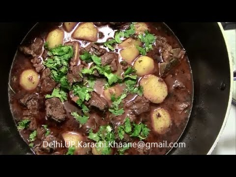 Aloo Gosht || Authentic || Restaurant Style