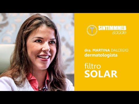 Filtro Solar é essencial | Dra. Martina Dalcegio