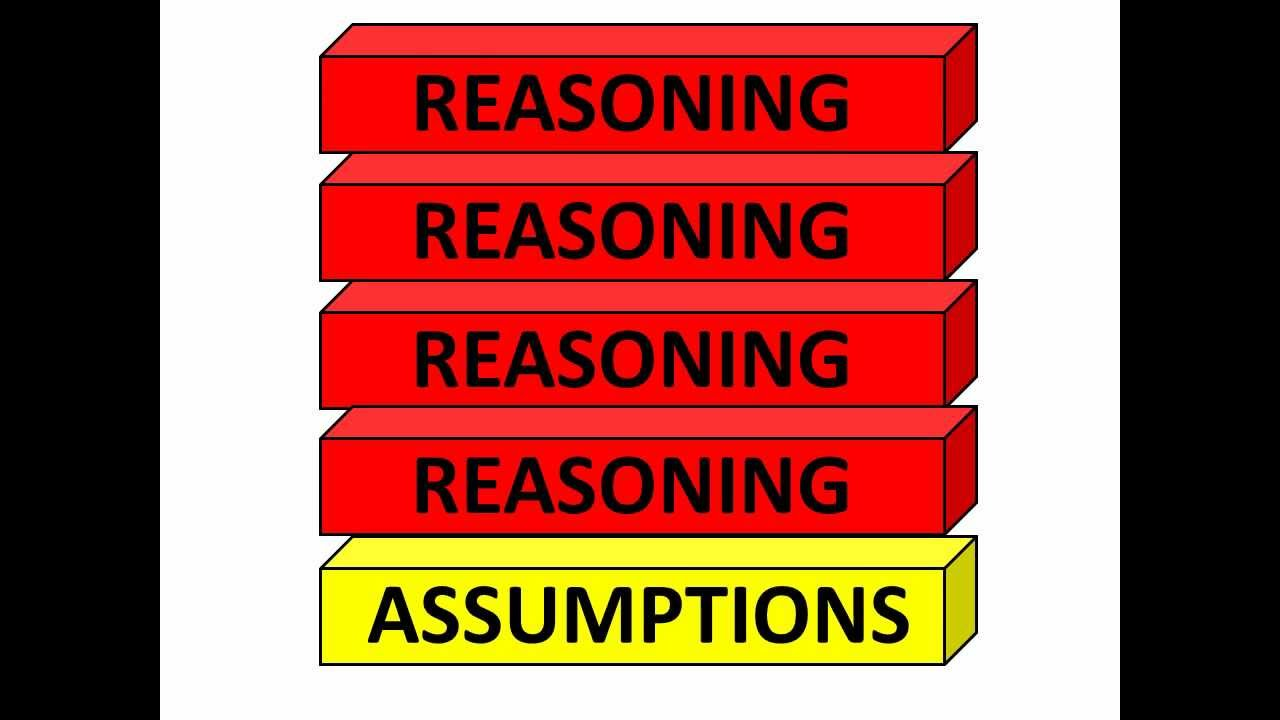 assumptions critical thinking process Critical thinking the process of critical thinking is the process by which we detect and analyse the assumptions that underpin the actions, decisions and judgements.