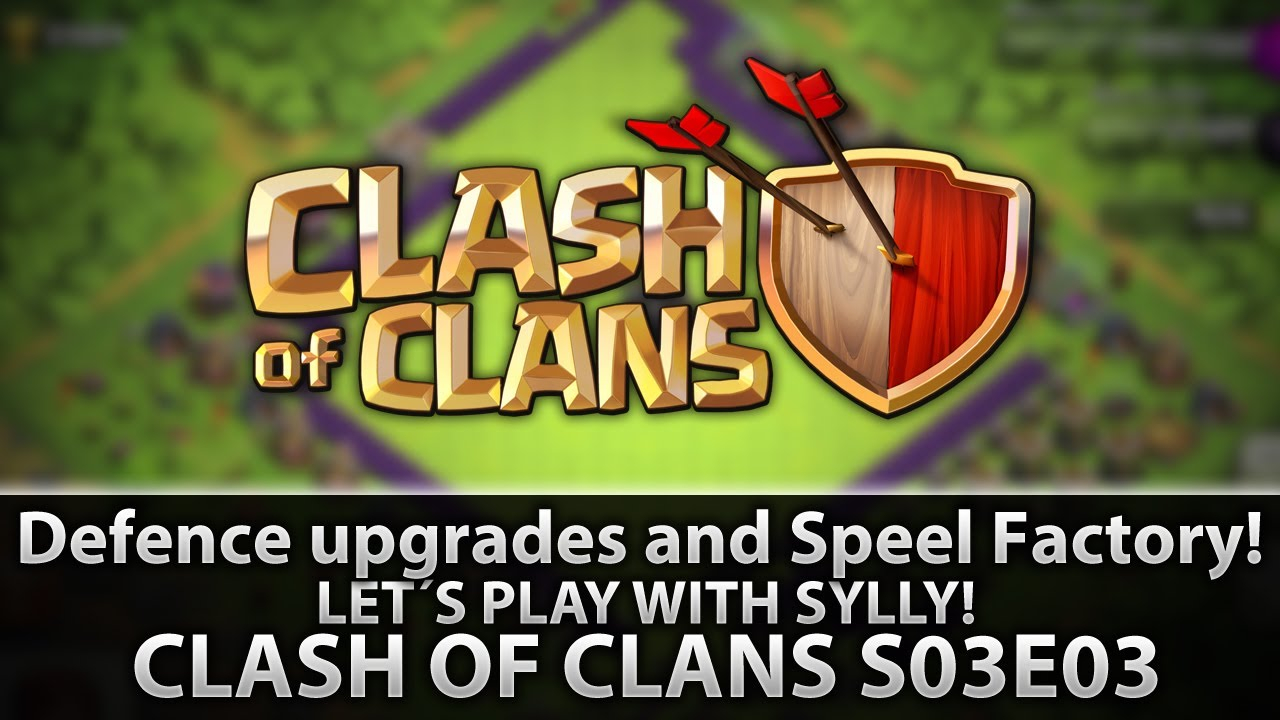 clash of clans spell factory - photo #31