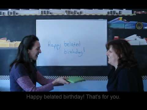 Lesson 45 - Past Forms of BE (was, were) - Learn English with Jennifer