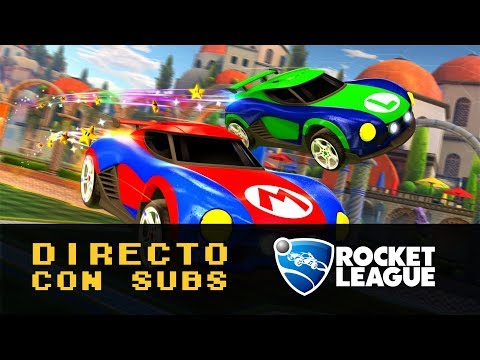 🔴 Rocket League para Nintendo Switch | Gameplay #1 en Directo con Subs | ¿Te apuntas?