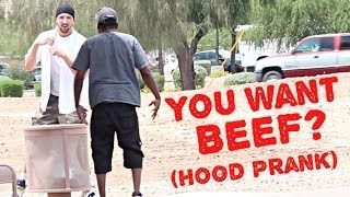 [You Want Beef? Hood Prank] Video