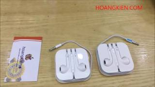 Phân biệt phụ kiện sạc, cáp, tai nghe zin và fake của iPhone