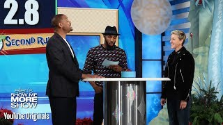 Will Smith and Ellen Play 5 Second Rule
