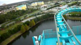 Montaña Rusa Kraken Parques Orlando Sea World Roller