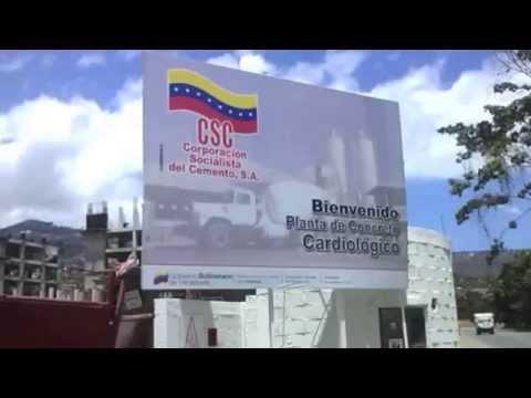 Bienvenido a la Planta de Concreto Cardiológico, en Montalbán, aporrea tvi, marzo 2015