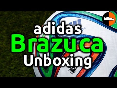 Brazuca - 2014 World Cup Match Ball Unboxing