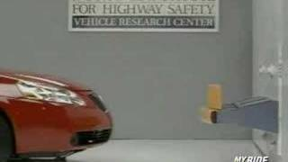 Bumper Crash Test: 2007 Pontiac G6 videos
