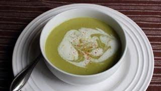 Cream of Asparagus Soup - Easy Asparagus Soup Recipe