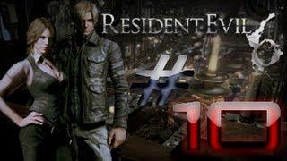 Resident Evil 6 Detonado (Walkthrough) Leon Parte 10 HD